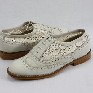 Steve Madden Summer Leather and Lace Oxford women